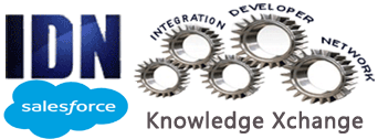 Salesforce @ IDN Knowledge Xchange Portal (KEP) Logo